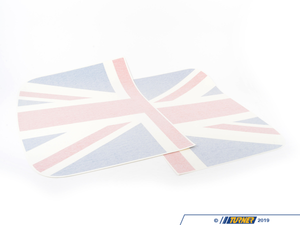 T#80910 - 51142207805 - Genuine MINI Roof Decor Union Jack - 51142207805 - Genuine MINI -