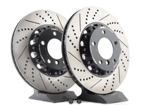 E46 330i/ci, Z4 ECS 2-Piece Front Brake Rotors - Pair (325x25)