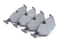 Hawk DTC-60 Race Brake Pads - Rear - E30 M3, E36 all, E36 M3, E39 (not M5), E46 (not 330/M3), Z3 all, MZ3, Z4 2.5/3.0 (incl 3.0si)