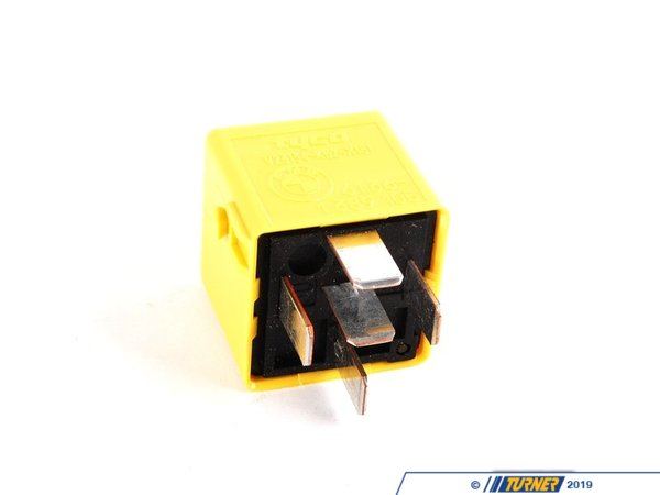 T#10639 - 61361389105 - Genuine BMW Relay In Zinc Yellow - 61361389105 - E34,E36,E46,E83 - Genuine BMW - BMW