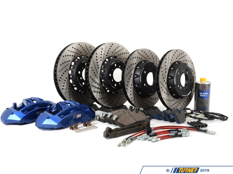 004038ecs04b F8x M3 M4 Blue Brakes Upgrade For E9x M3