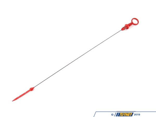 T#6856 - 11431718863 - Genuine BMW Dipstick L=533,5mm - 11431718863 - E30,E34 - Genuine BMW -