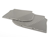 Rear All-Weather Floor Mats - grey - F10