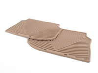Rear All-Weather Floor Mats - Tan - F10