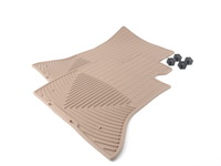 Tan All-Weather Floor Mats - Tan - F10