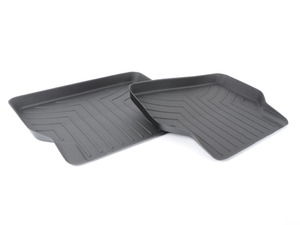 rear FloorLiner DigitalFit - Black - E60 E61