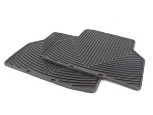 rear All-Weather Floor Mats - Black - E60 E61