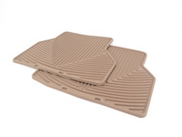 Rear All-weather Rubber Mats - Tan - E60 E61