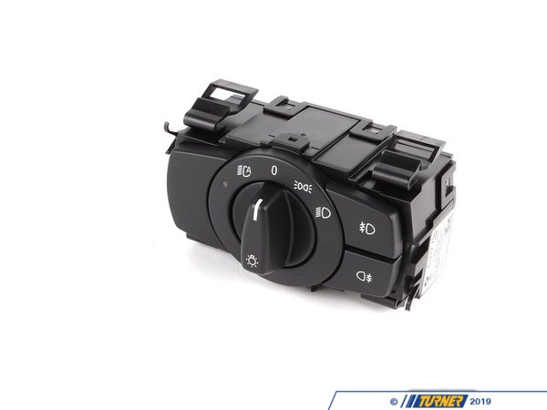 T#370116 - 61316932796 - Euro Headlight Switch - Black -- E90/E92 3 Series & E82/E88 1 Series - Genuine European BMW - BMW