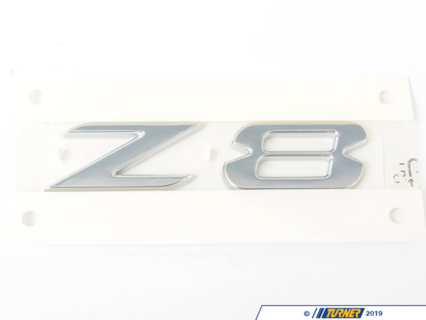 T#81090 - 51147009130 - Genuine BMW Label Z 8 - 51147009130 - Genuine BMW -