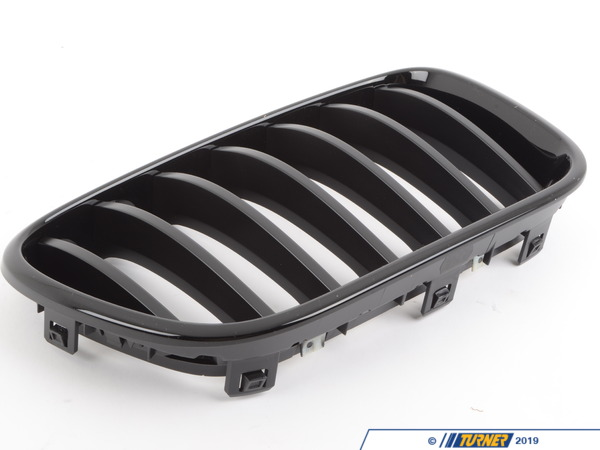 T#24210 - 51712297590 - Genuine BMW Front Trim Grill, Black, Right - 51712297590 - Genuine BMW -