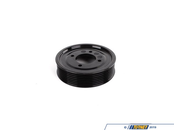 T#6866 - 11511742045 - Genuine BMW Pulley D=112mm - 11511742045 - E38,E39,E53 - Genuine BMW -