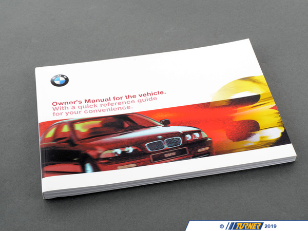 T#6359 - 01419791177 - Genuine BMW Owner's Handbook E46/4 - 01419791177 - E46 - Genuine BMW -