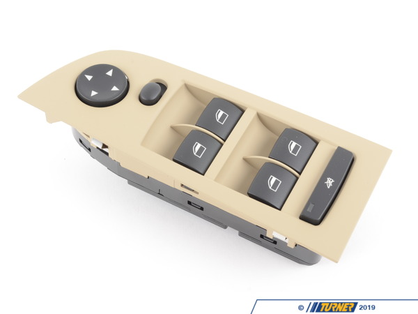 T#143412 - 61319217331 - Genuine BMW Window Lifter Switch, Driver - 61319217331 - Beige - Genuine BMW -