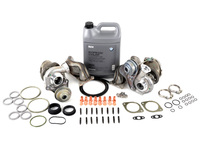 T#379060 - 1165764928990KT2 - E9X 335i/xi N54 OE BMW Twin Turbo Replacement Kit (Remanufactured Turbos) - Genuine BMW - BMW