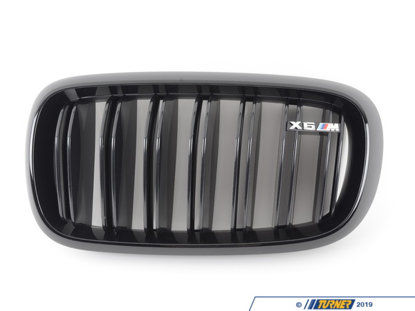 T#210590 - 51712354499 - Genuine BMW Trim Grill, High-Gloss Black - Genuine BMW -