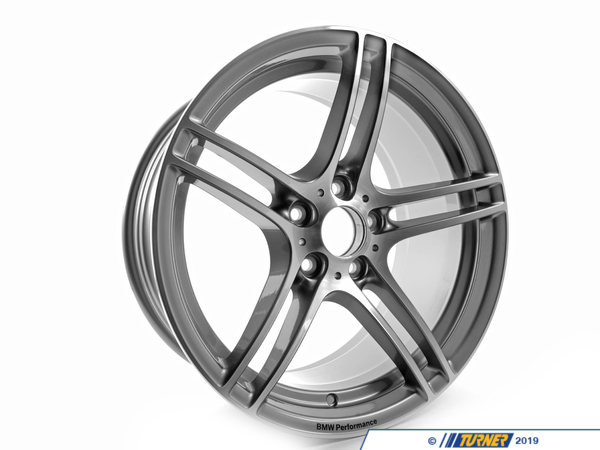 "T#5181 - 36116787648 - E9X 19"" BMW Performance Style 313 19x9.0"" ET39 Alloy Wheel - Genuine BMW - BMW"