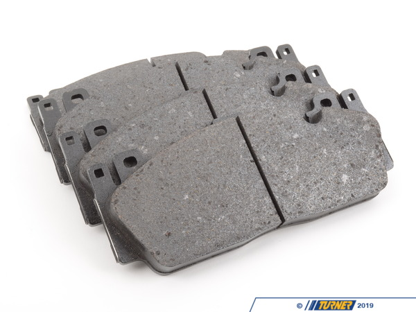 T#195141 - 34112284970 - Genuine BMW Brake Pads for M Carbon - Front - F80 M3, F82 M4 - These are the Original BMW front brake pads for the F80 M3 and F82 M4 for cars with the M Carbon Ceramic brakes (option code S2NKA).These Genuine BMW pads are sourced from BMW, guaranteeing fit and performance. The great thing about OE BMW pads is that they have a lot of initial bite, which is something many aftermarket pads do not provide. The feel of the pad is what you're used to so even if they dust a lot, the familiar feel and braking characteristics are worth the trade-off. Price is for one set - enough to replace the pads on both front calipers. This item fits the following BMWs:2015+ F80 BMW M32015+ F82 BMW M4 - Genuine BMW - BMW