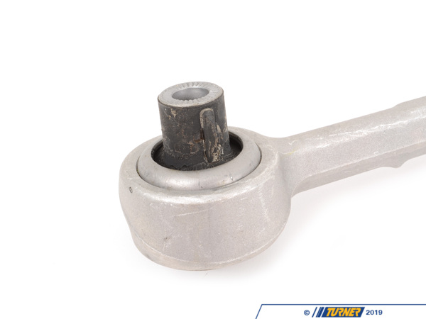 T#22770 - 31126786204 - Front Wishbone (Lower Control Arm) - Right - E89 Z4 - This is the RIGHT side front wishbone (lower control arm) for the E89 Z4. It has an outer ball joint and inner rubber bushing. The rubber bushing on the inside will wear and lead to sloppy handling, imprecise steering, and even clunking and rattling noises from the front end. The bushings are not replaceable on their own so the whole arm needs to be ordered.Fits Right / Passenger's side.This item fits the following BMWs:2009+  Z4 BMW Z4 sDrive28i Z4 sDrive30i Z4 sDrive35i Z4 sDrive35is - Genuine BMW - BMW
