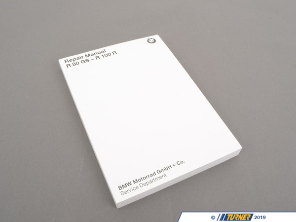 T#27030 - 01519799001 - Genuine BMW Brochure, Repair Manual R80g - 01519799001 - Genuine BMW -