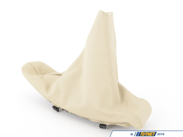 T#63780 - 34426951561 - Genuine BMW Handbrake Lever Cover Cremebeige - 34426951561 - E92,E93 - Genuine BMW -