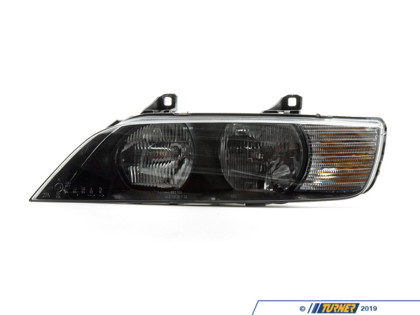 T#146819 - 63122695021 - Genuine BMW Left Headlight, White Turn I - 63122695021 - Genuine BMW -