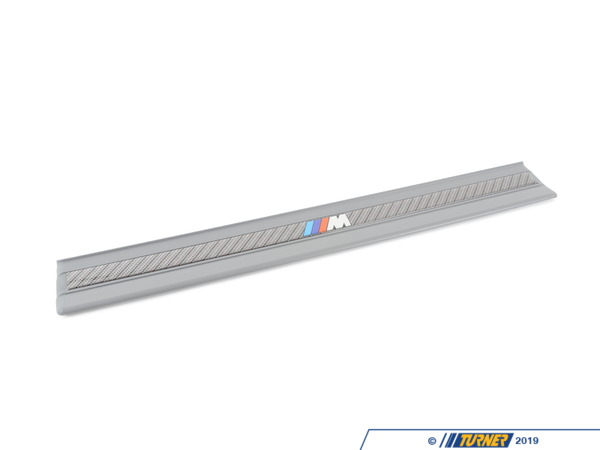 T#110501 - 51472489986 - Genuine BMW Sill Strip Front Silbergrau  M - 51472489986 - E36 - Genuine BMW -