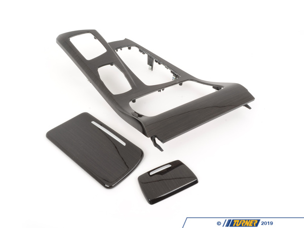 T#87460 - 51169206377 - Genuine BMW Cover Center Console Finelin - 51169206377 - Anthrazit - Genuine BMW -