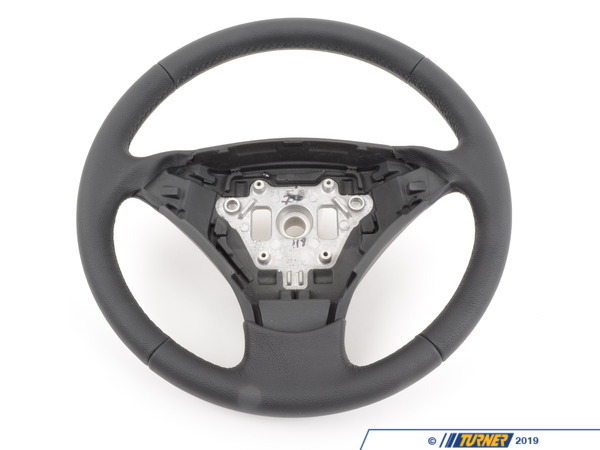 T#57626 - 32346774456 - Genuine BMW Leather Steering Wheel Schwarz - 32346774456 - Genuine BMW -