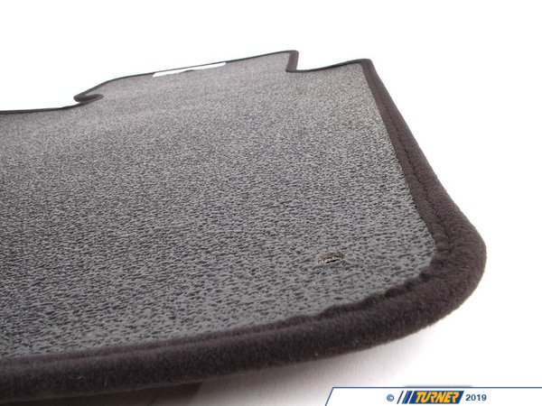T#13894 - 51478201222 - Genuine BMW Set Of Floor Mats Velours Anthrazit - 51478201222 - E46 - Genuine BMW -
