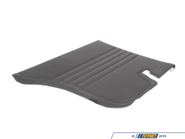 T#102148 - 51431811531 - Genuine BMW Lateral Trim Panel, Black, L - 51431811531 - Genuine BMW -