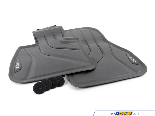 T#217194 - 51472365853 - Genuine Bmw Floor Mats, All-weather, Fro - 51472365853 - Genuine BMW -