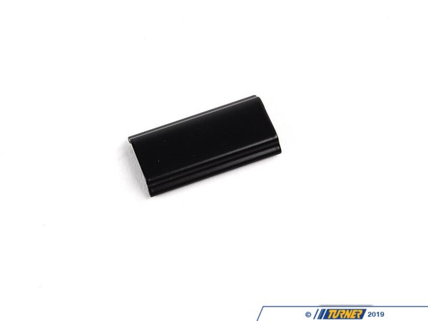 T#9478 - 51311906604 - Front Black Lockstrip Clip - E30 - 51311906604 - Schwarz - Genuine BMW -