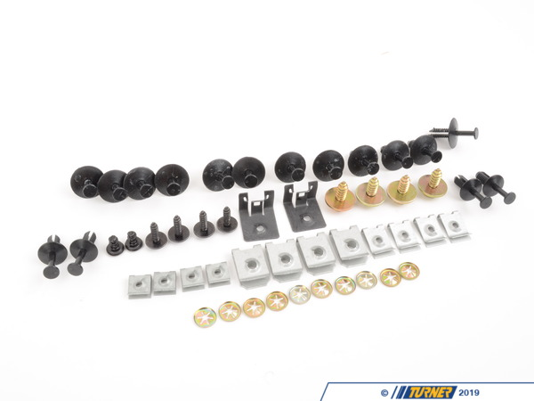 T#216000 - 51112294577 - Genuine BMW Set Of Mounted Parts, Bumper, Front - Value Line - 51112294577 - E39, - Genuine BMW -