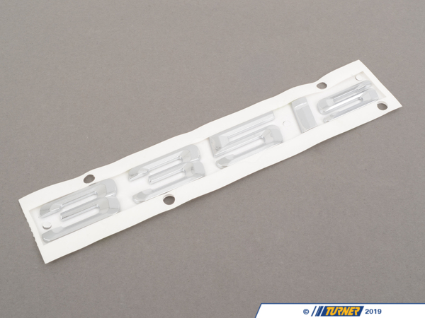 T#213740 - 51147364378 - Genuine BMW Emblem Adhered Rear E92,E93, - 51147364378 - Genuine BMW -