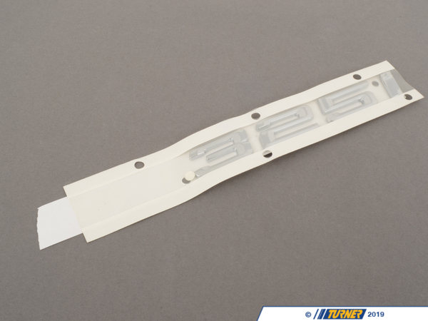 T#81132 - 51147157556 - Genuine BMW Emblem Adhered Rear - 325I - 51147157556 - E90 - Genuine BMW -