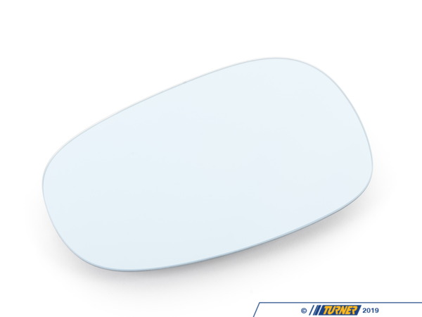 T#83878 - 51167158907 - Genuine BMW Mirror Glas Heated Plane Left Blau - 51167158907 - E90 - Genuine BMW -