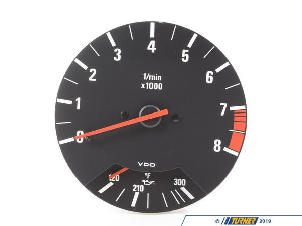 T#146051 - 62131381485 - Genuine BMW Revolution Counter W.Oil Temp.Contr. - 62131381485 - E30 - Genuine BMW -