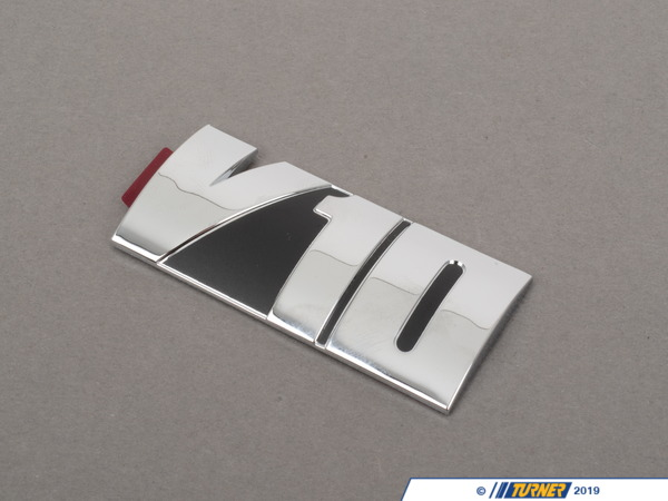 T#14625 - 11617834686 - Genuine BMW Emblem Adhered V10 - 11617834686 -E60 M5,E63 M6 - Genuine BMW -