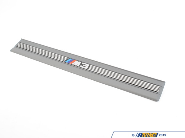 T#110481 - 51472264045 - Genuine BMW Sill Strip Front Silbergrau - 51472264045 - E36 - Genuine BMW -