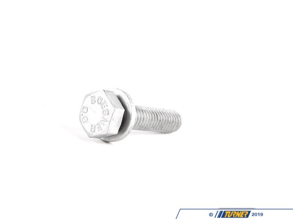 T#31252 - 11121736603 - Genuine BMW Hex Bolt With Washer - 11121736603 - Genuine BMW -