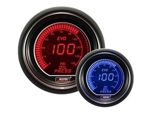 EVO Series Digital Oil Pressure Gauge - 0-150 Psi