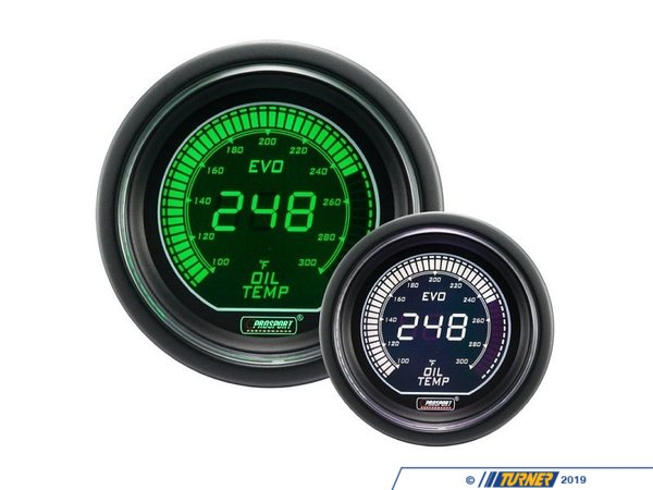 T#389627 - 216EVOWGOT.F - EVO Series Digital Oil Temperature Gauge - 100-300F - Prosport Performance - BMW MINI