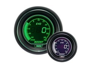 EVO Series Digital Boost Gauge - 30 InHg/35 PSI