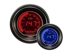 EVO Series Digital Wideband Air Fuel Gauge Kit - 10.0:1 To 20.0:1 AFR