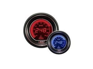 EVO Series Digital Fuel Pressure Gauge - 0-100 Psi