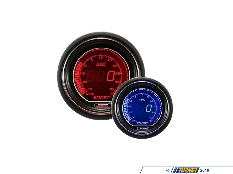 T#389613 - 216EVOBO.PSI - EVO Series Digital Boost Gauge - 30 InHg/35 PSI - Prosport Performance - BMW MINI