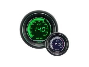 EVO Series Digital Volt Gauge - 8-18v