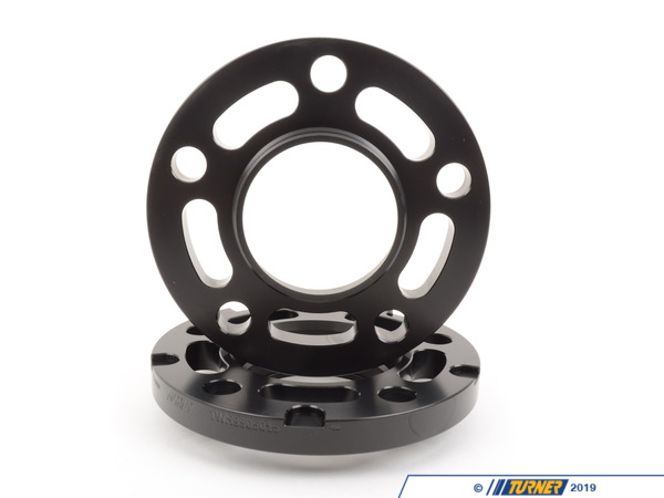 T#304118 - TWH9905015BLACK - BLACK 15MM 5/120 TMS SPACER (PAIR) FITS ALL 5 LUG BMWS EXCEPT E39 - requires longer bolts - Turner Motorsport -