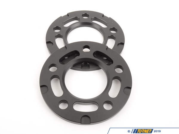 T#304131 - TWHF9905F02BLACK - 10mm Big Pad Wheel Spacers - Black (Pair) - Turner Motorsport -